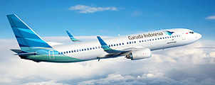 Nieuwe vliegroutes voor Garuda Indonesia in 2013