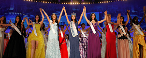 Bali gastheer Miss World 2013 verkiezing