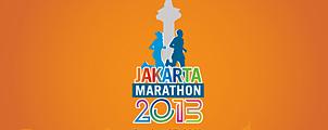 Marathon in Jakarta op 27 oktober 2013