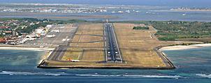 Vliegveld Bali gedeeltelijk gesloten op 5, 6, 8 & 9 oktober