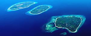 Tropisch paradijs op de Gili Eilanden