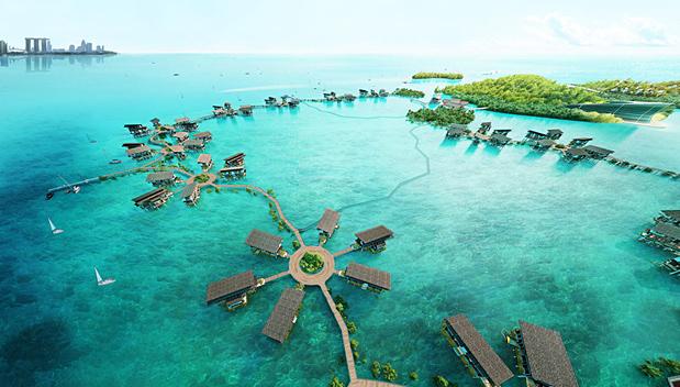 Funtasy Island: Nieuw eco-park vlakbij Singapore